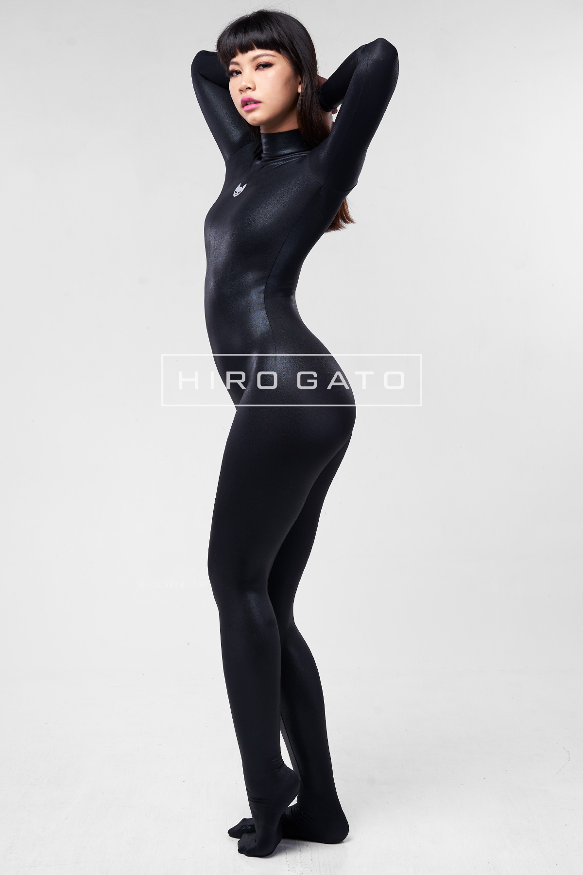 Mystique Spandex Catsuit Black