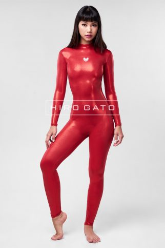 Mystique Spandex Catsuit Red