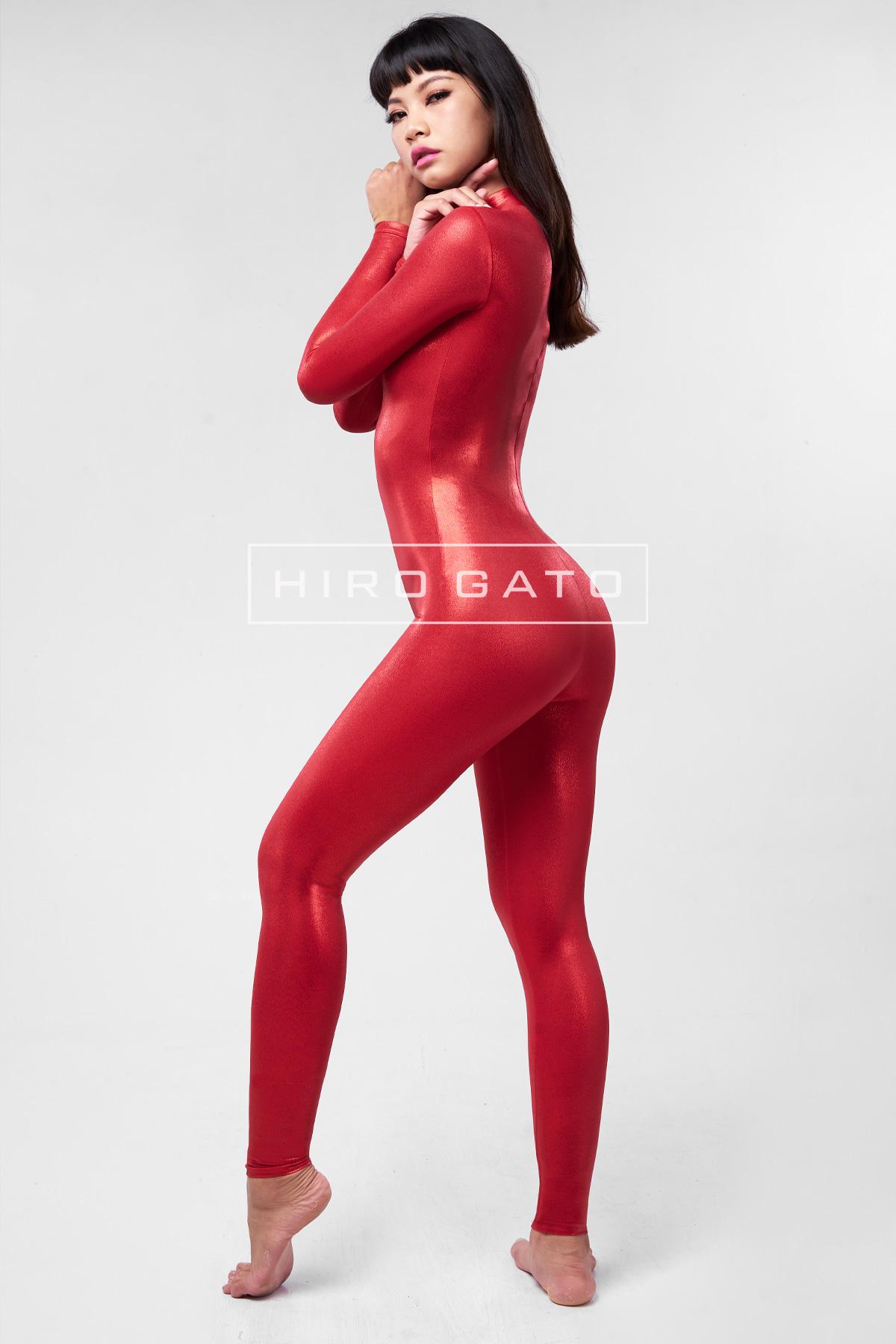 Mystique Spandex Catsuit Red