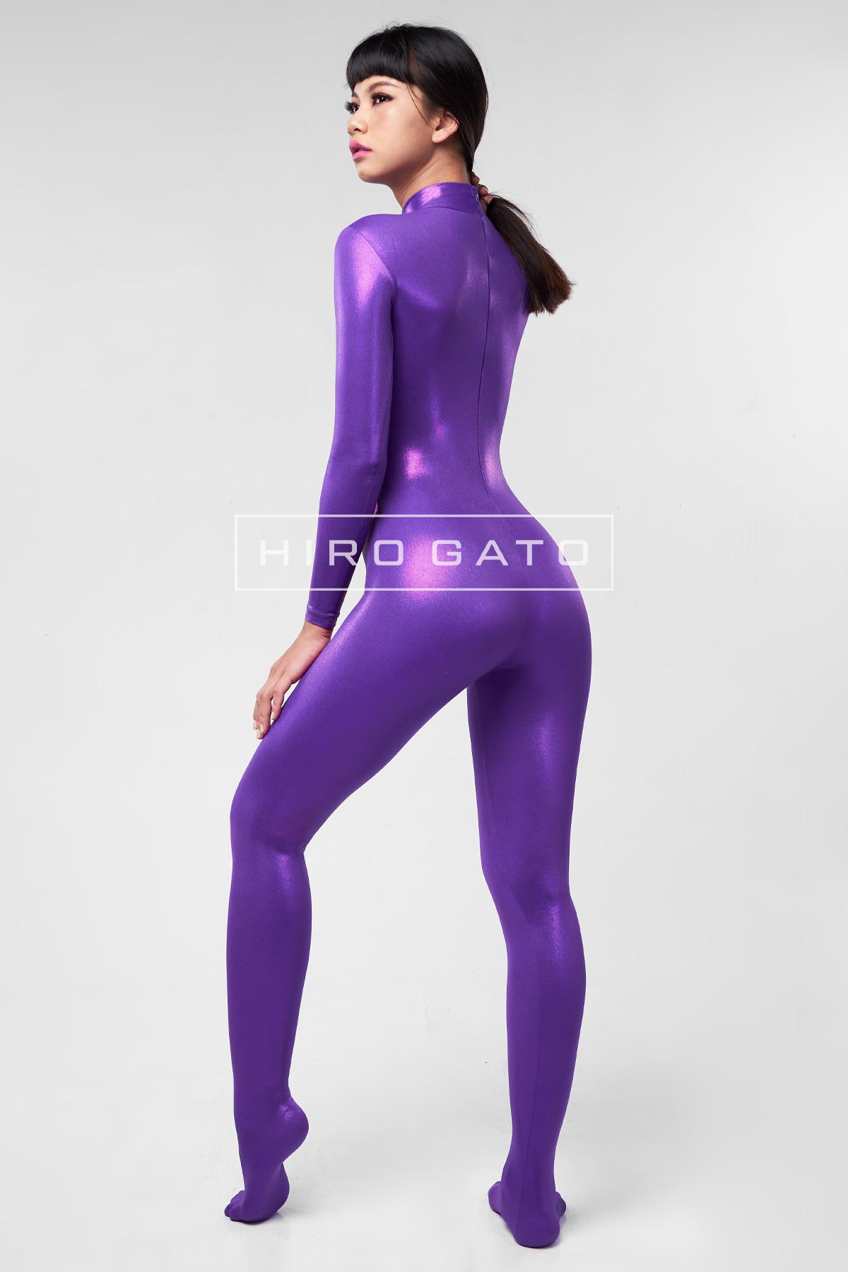 Mystique Spandex Catsuit Purple