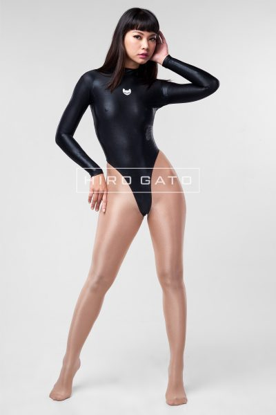 Mystique Spandex Leotard Black