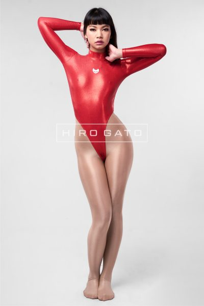Mystique Spandex Leotard Red