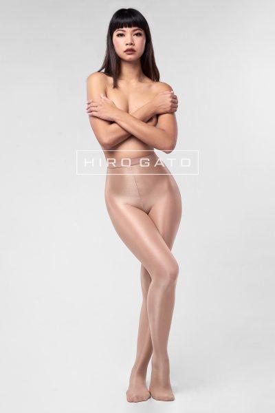 Shiny Pantyhose Nude